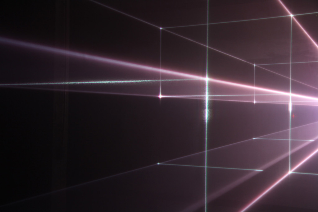 United Visual Artists – Vanishing point at the Olympus OM-D Photography Playground the Opernwerstätten in Berlin