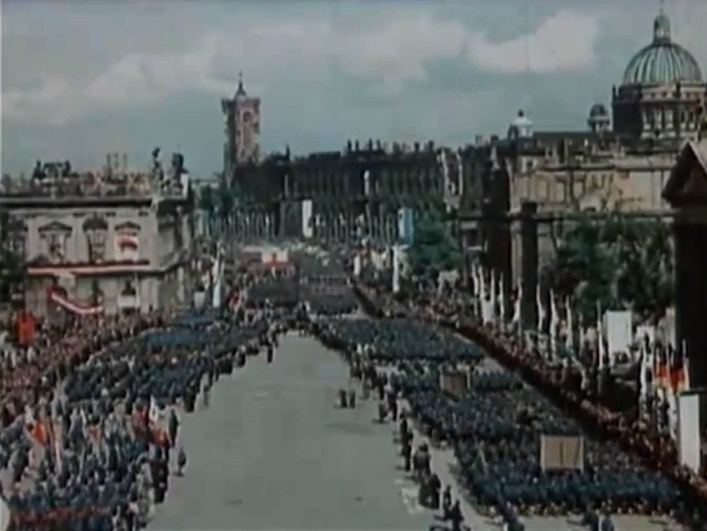 Berlin in the 1950s - East Berlin Parade 1950
