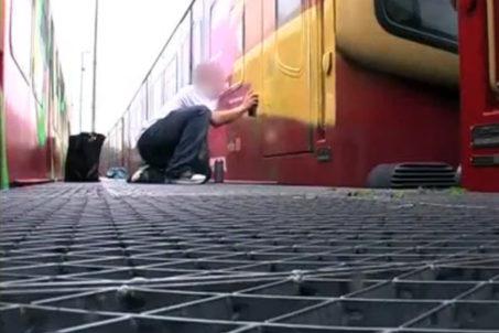 UNLIKE U - Trainwriting in Berlin (screenshot from the film)