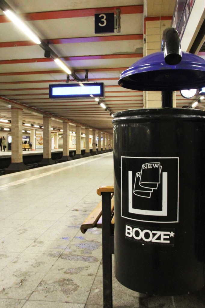 Booze Bin - Street Art by Unknown Artist in Berlin