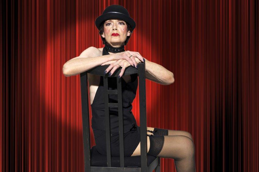 Cabaret - Contilia Gruppe / Werntges Studios (pensioner Martha Bajohr poses as Sally Bowles)