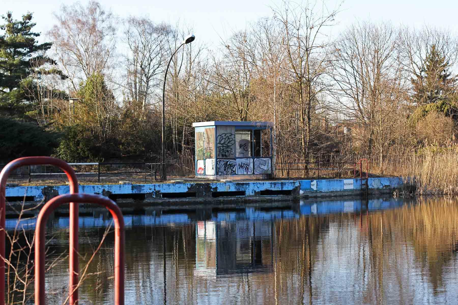 Wernerbad Berlin Hippo Habitat Under Threat