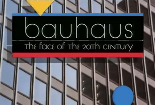 Titelbild von dem Dokumentarfilm Bauhaus: The Face of the 20th Century