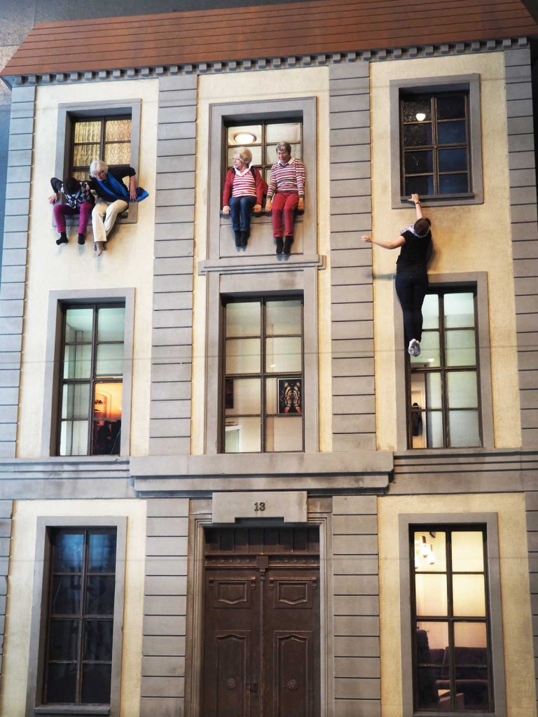 Close Up of Berlin Facade by Leandro Erlich at Olympus Photography Playground Berlin
