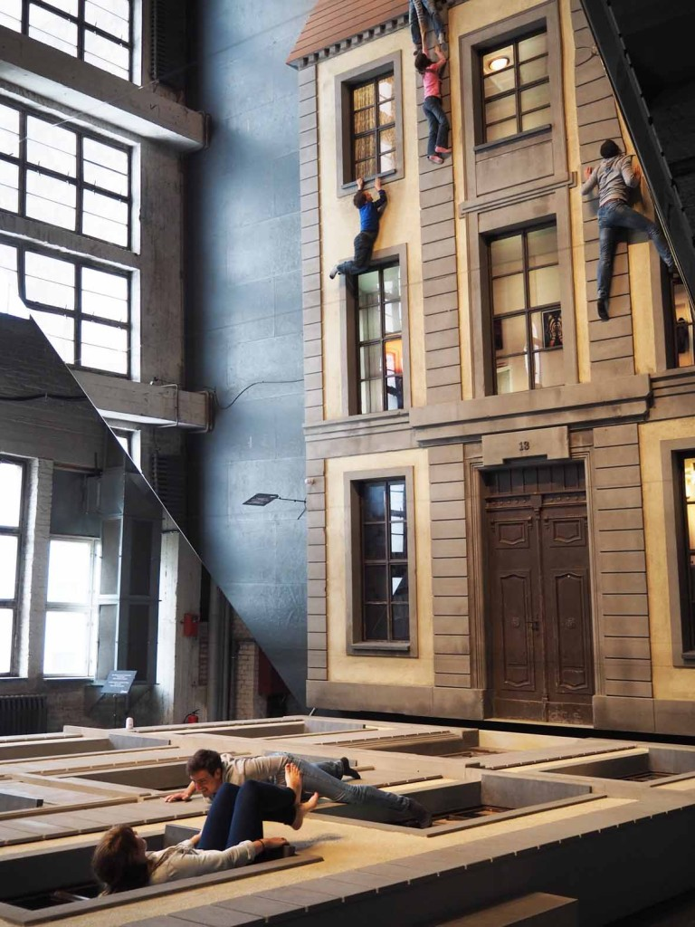 Berlin Facade by Leandro Erlich at Olympus Photography Playground Berlin