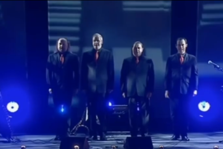 Bill Bailey Tribute to Kraftwerk - Still from Part Troll DVD