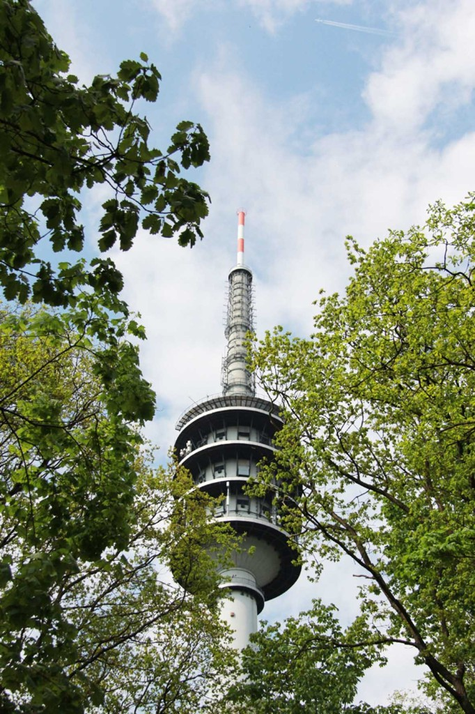 Fernmeldeturm Berlin-Schäferberg a TV and radio tower near Wannsee