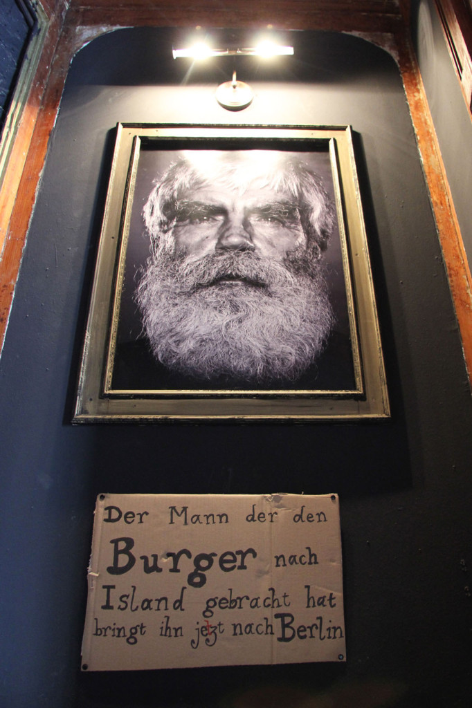 Tommi (Tomas Tomasson) Portrait at Tommi's Burger Joint Berlin