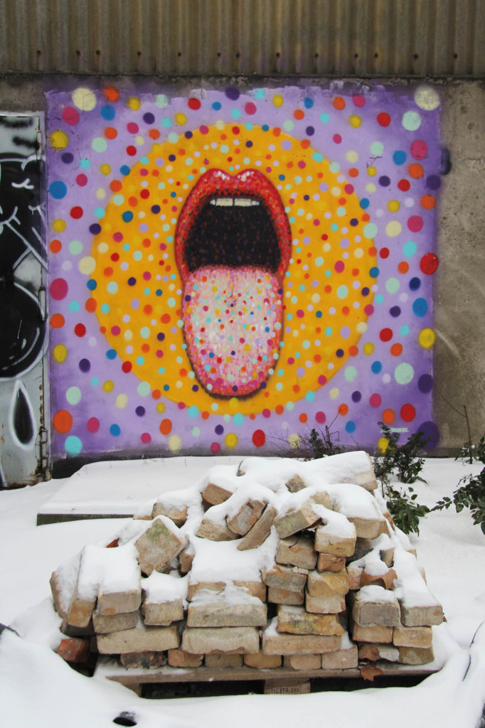 Big Mouth Strikes Again - Street Art by Jimmy C in Berlin