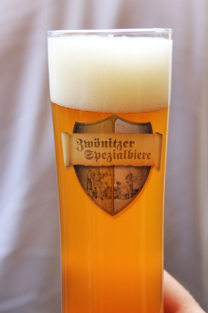 Brauerei Zwönitzer India Pale Ale at the International Berlin Beer Festival (Internationales Berliner Bierfestival)