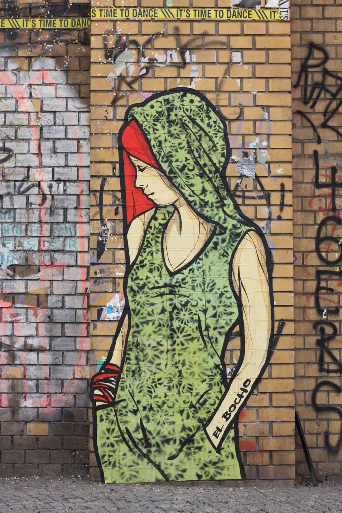 Citizen Green - Street Art by El Bocho in Berlin