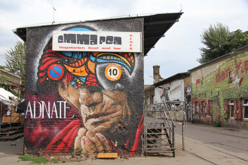 Emma Pea - Street Art by Adnate in Berlin