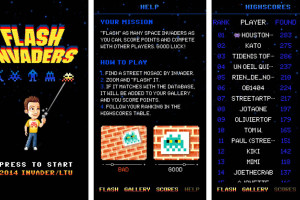 FlashInvaders – A Street Art App From Invader
