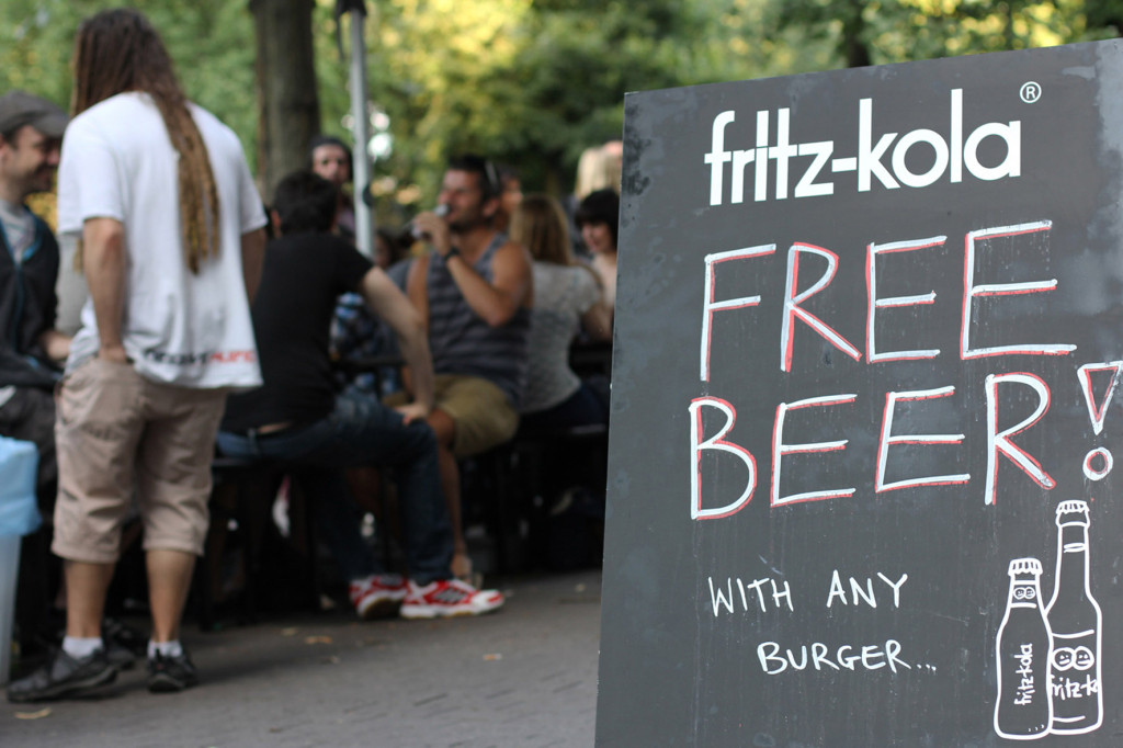 Free Beer at Piri's Chicken Burgers in Berlin