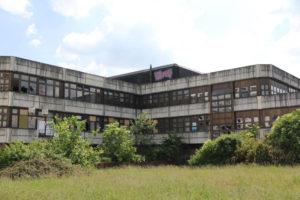Kongresszentrum des Sportforums Berlin – Abandoned Conference Centre