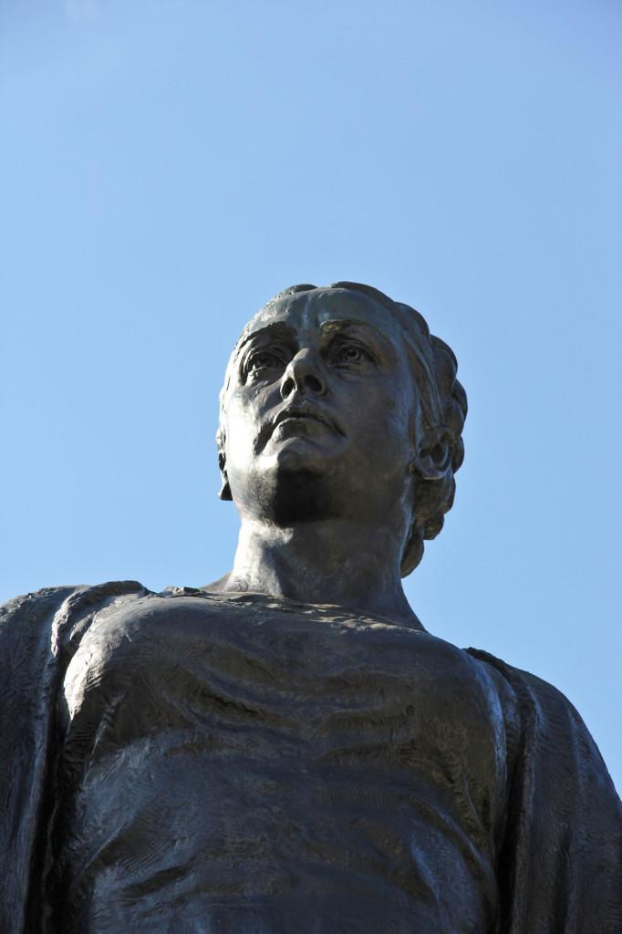 Mother Russia at Soviet Memorial in Schönholzer Heide in Berlin