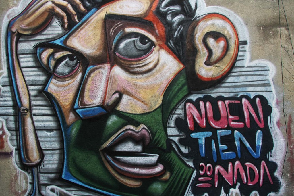 Nuen Tien Do Nada - Street Art by Apitatán in Berlin