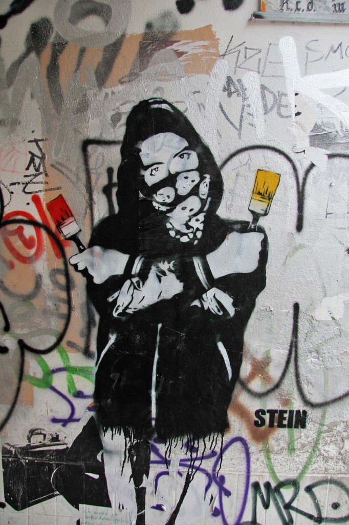 Painter For Life - Street Art by STEIN in Berlin