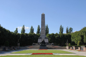 Soviet War Memorial in Schönholzer Heide in Berlin