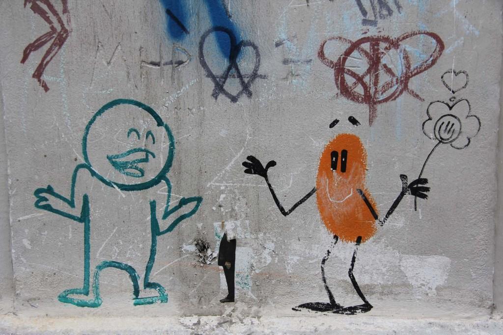 Street Art by Prost : Dave the Chimp : Käptn in Berlin