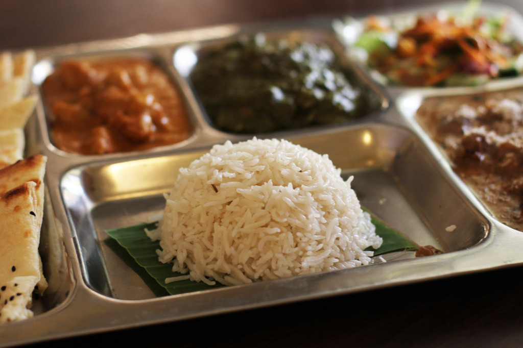 Amish Thali Tray at Agni Indian Restaurant in Berlin