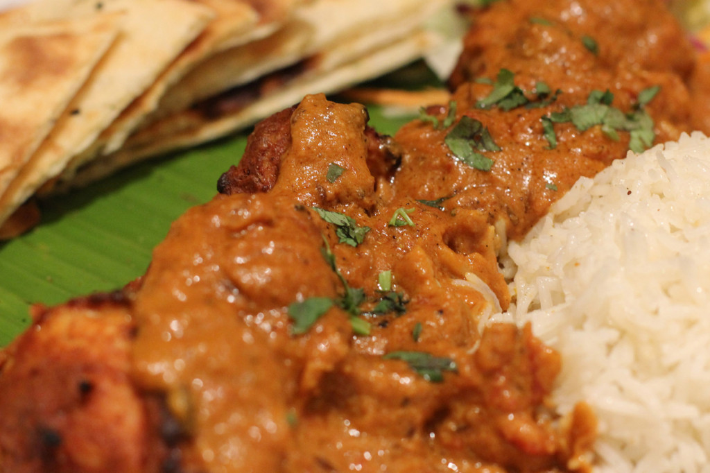 Murgh Tikka Curry Close Up at Agni Indian Restaurant in Berlin