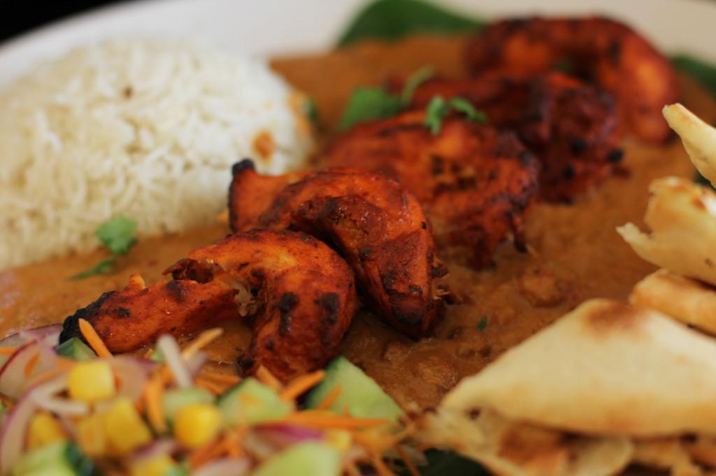 Murgh Tikka Curry at Agni Indian Restaurant in Berlin