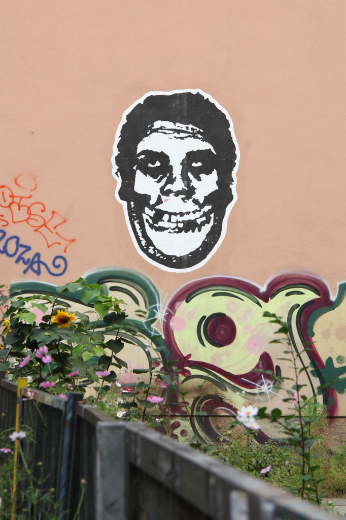 Andre the Giant - Street Art by Shepard Fairey (Obey the Giant) in Berlin