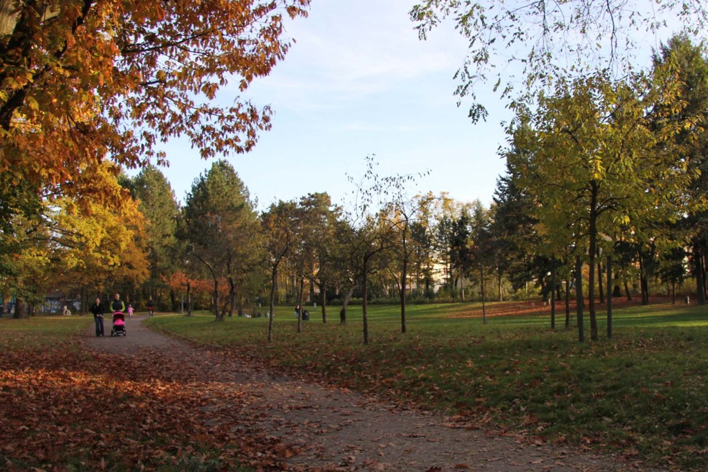 Autumn Colours at Gemeindepark Lankwitz in Berlin