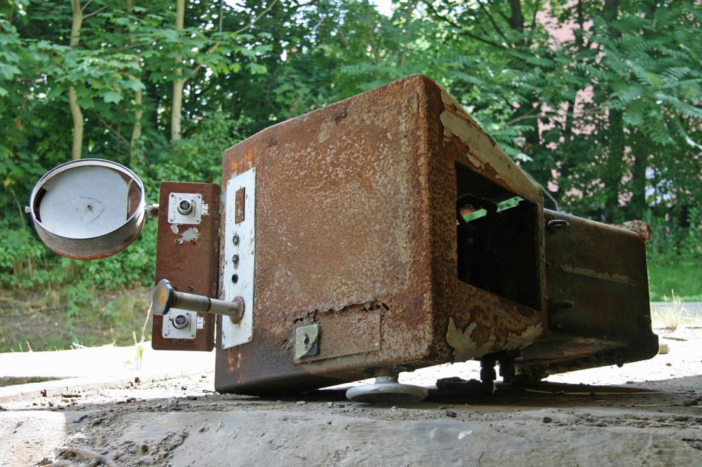 A Rusting Pump at Schwerbelastungskörper Berlin