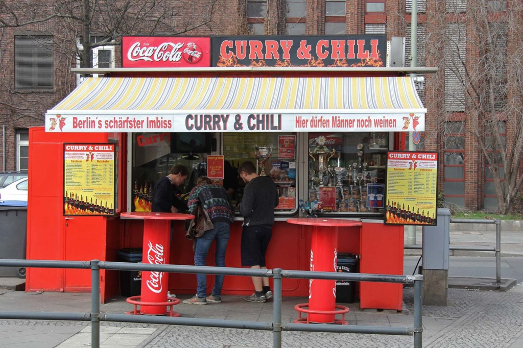 Curry & Chili, a Currywurst Imbiss in Berlin