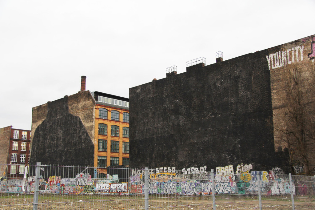 Painted Black - Former BLU Street Art on the Cuvrybrache in Berlin