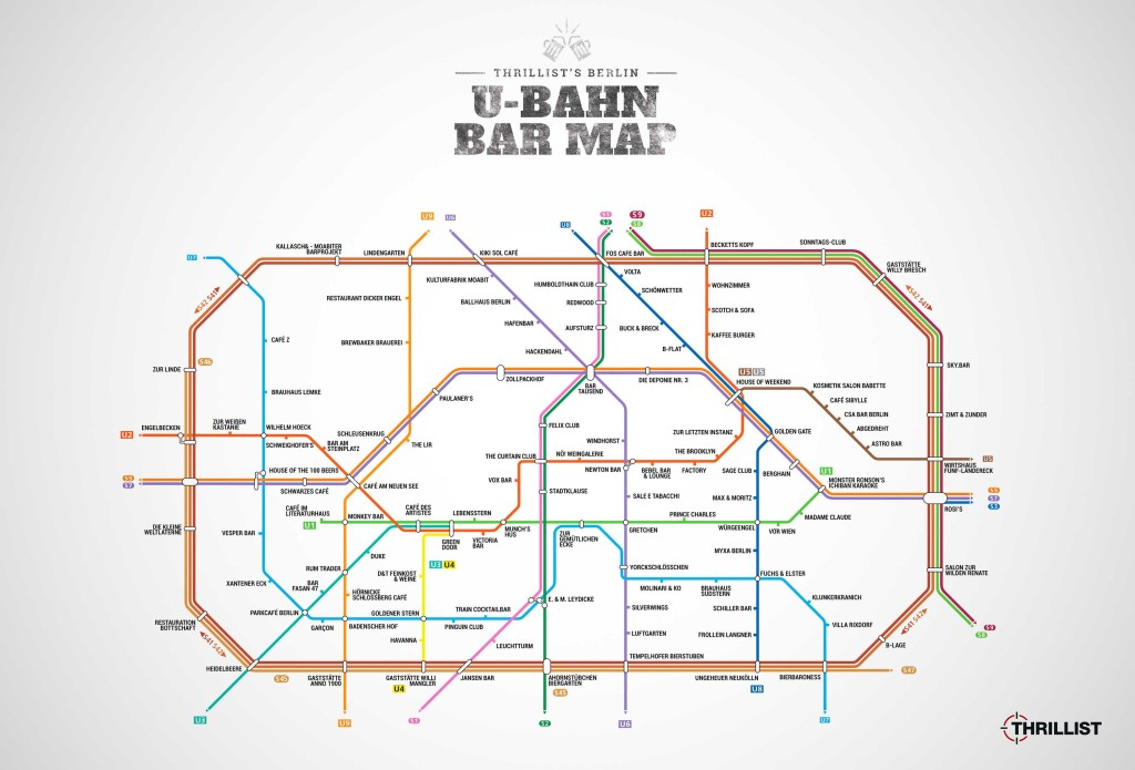 Berlin Maps: Bars, Burgers and Christmas Markets - Berlin Love