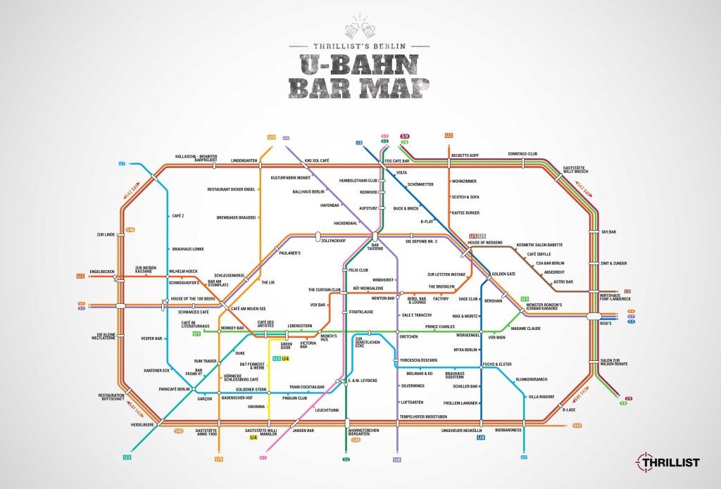Berlin U Map