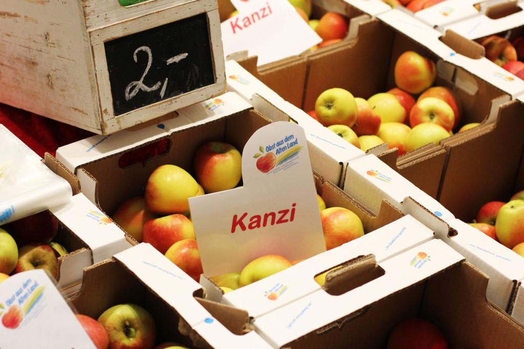 Apples at Grüne Woche Berlin