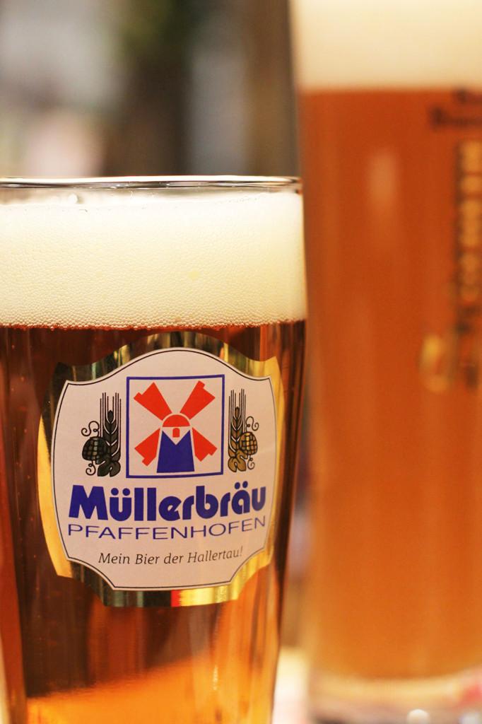 Beer at Grüne Woche Berlin