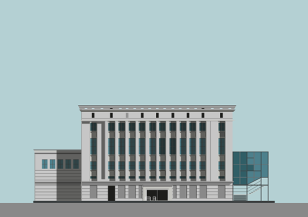 Berghain Berlin Illustration by Pablo Benito