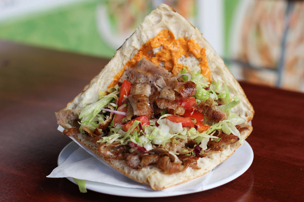 Döner Kebap im Brot at Konyali in Berlin