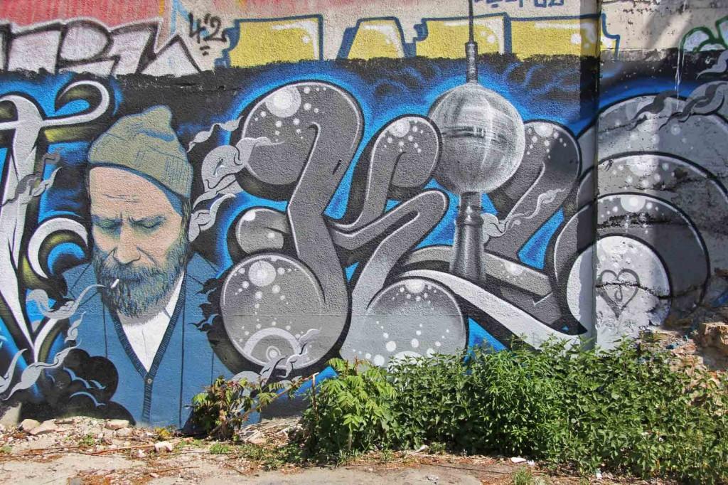 Kippe - Street Art by Unknown Artist in Berlin