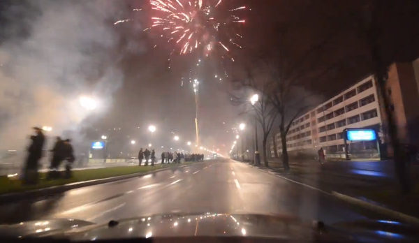 New Year's Eve Fireworks - Berlin Silvester