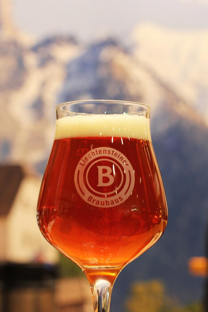 Pale Ale from Liechtensteiner Brauhaus at Grüne Woche Berlin