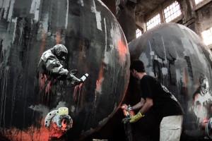 Acid Tanks – Plotbot KEN at work