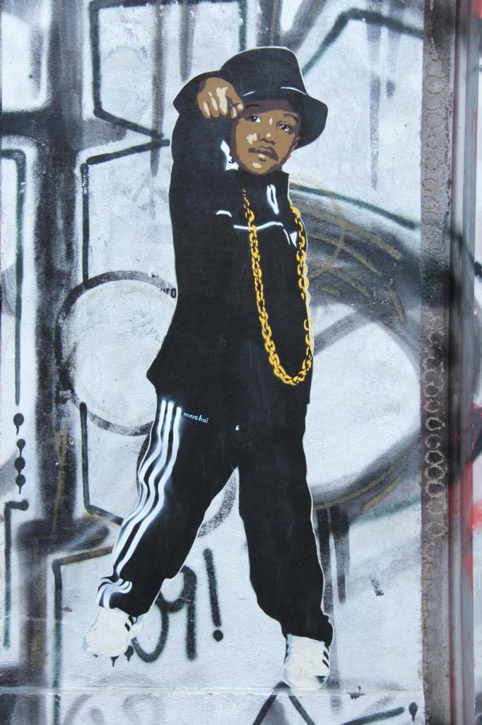 Run DMC 2 - Street Art by Marshal Arts in Berlin