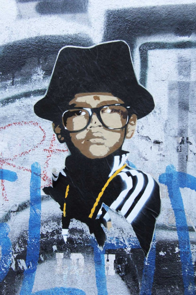 Run DMC - Street Art by Marshal Arts in Berlin