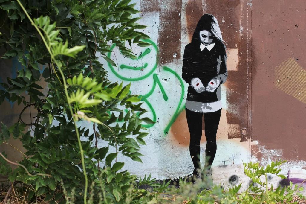 Stigmata - Street Art by Negative Vibes in Berlin