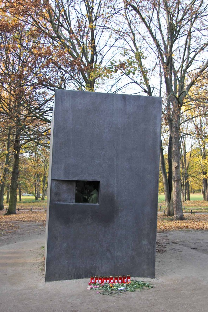 The Memorial to the Homosexuals Persecuted Under the National Socialist Regime in Berlin