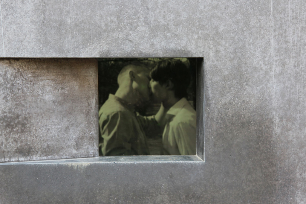 Video Installation at the Memorial to the Homosexuals Persecuted Under the National Socialist Regime in Berlin