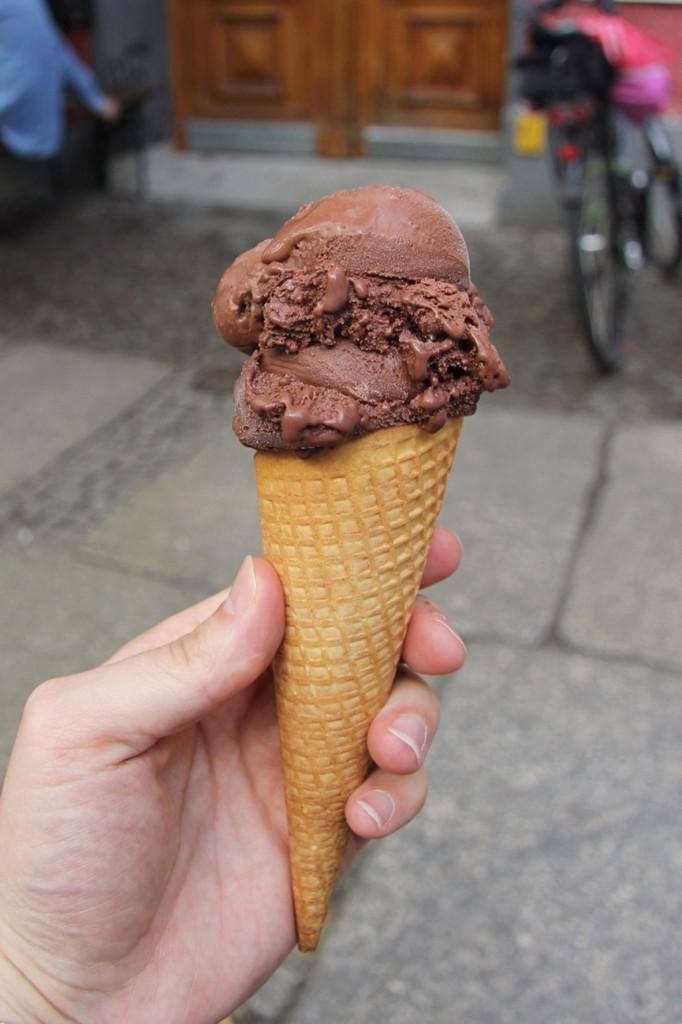 Ice Cream Cone at Hokey Pokey Berlin