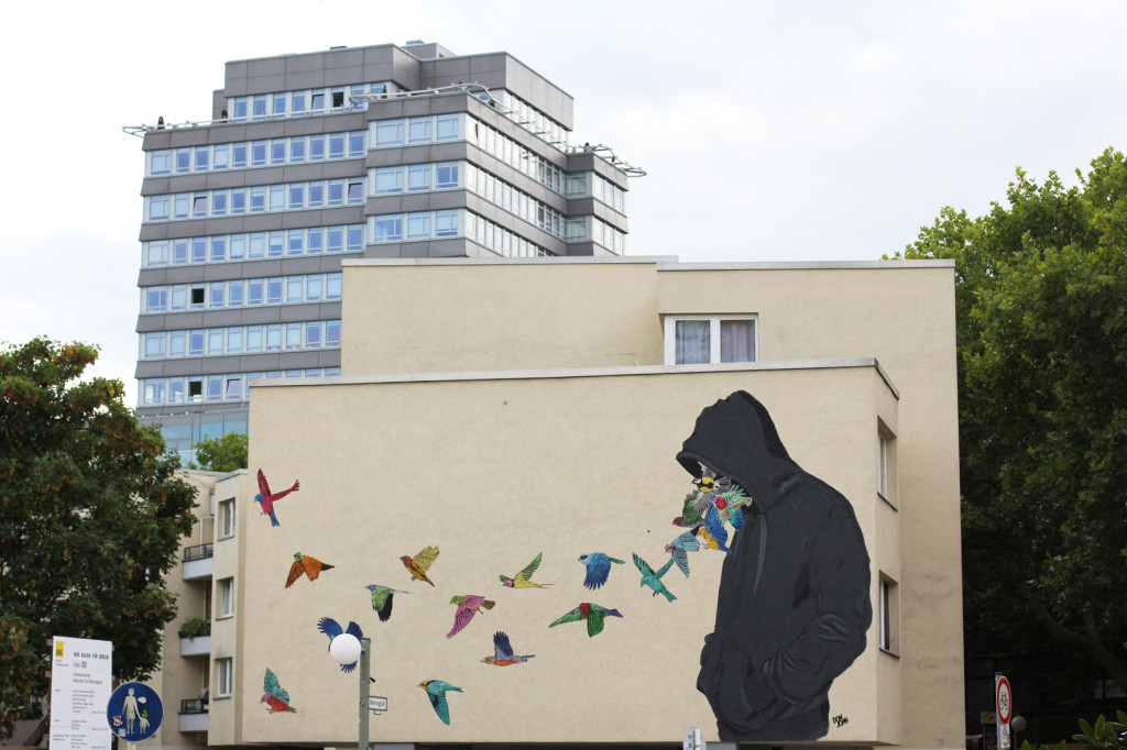 Street Art by Don John for Urban Nation Berlin