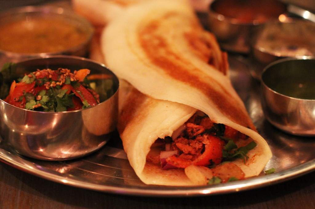 Tandoori Chicken Dosa at Chutnify Berlin